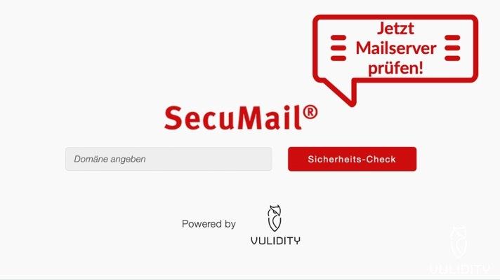 Secumail Mailserveranalyse